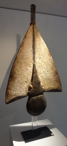Africa | Kaissi Sawfish mask from the Bidjogo people of the Bissagos Islands…