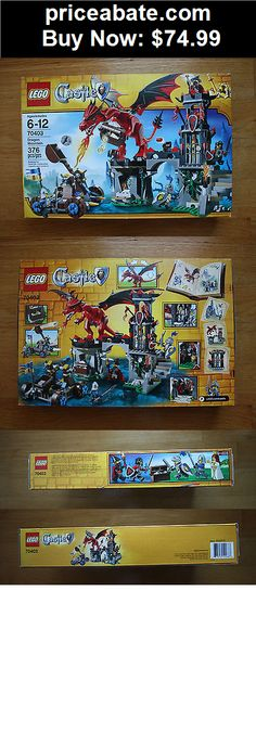 Toys: LEGO Castle Dragon Mountain 70403 New sealed - BUY IT NOW ONLY $74.99