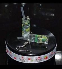 Σκουλαρίκια Mojito