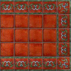 LeMog - 3dTextures - Carrelage Azuleros Motifs 4 - Tiles/510 veniseSienne