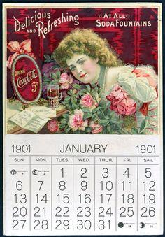 Coke calendar