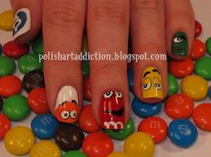 M Nails CUTE!!! I just voted for Leslie & I don't even know her BUT I think the nails are cute