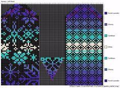Knitting Charts, Knitting Stitches, Knitting Patterns, Knitted Mittens Pattern, Norwegian Knitting Designs, Knit Stranded, Fair Isle Pattern, Tejidos, Embroidery