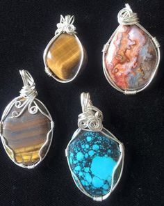Wire Wrapping Stones without Holes | Now is a great time to slip the ...