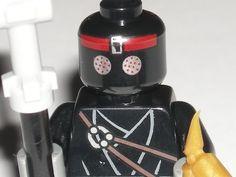 LEGO Foot Solider Teenage Mutant Ninja Turtle Minifigure Minifig + Weapons 79103