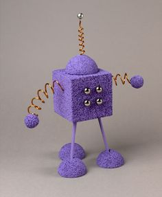 Purple Robot Craft