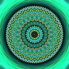 Mandala Neboj se vykročit do neznáma Mandala Art, Motivation, Inspiration