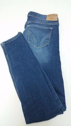 """Hollister Ladies Jean's Size 3R (26) Inseam 31"""""""