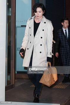 Kim JaeWook attends the Zanellato 2014 S/S presentation at ELBON The Style on March 7 2014 in Seoul South Korea