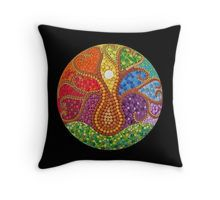 Throw Pillow - Tree of Life- Mandalaole.com - Mandalaole at Redbubble