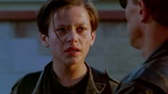 "Picture of Edward Furlong (John Connor)Arnold Schwarzenegger (The Terminator) issued from ""Terminator 2: Judgment Day"" ( 1920 x 1080 )"