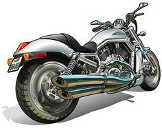 VRSCA V-Rod / illustrator Muneharu. ■web site : http://www.muneharu.info/