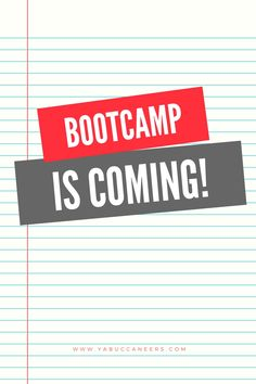Guess what's coming ...  http://www.yabuccaneers.com/blog/bootcamp-is-coming