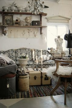 love the salvaged piece over the window...