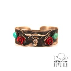 Longhorn Metal Cuff | Mad Cow Co.