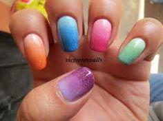 Degradado de diferentes colores