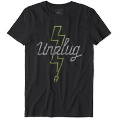 Men's Unplug Lightning Newbury Tee