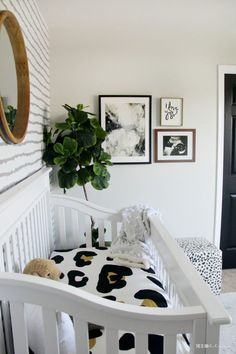 Sophisticated Neutral Nursery Reveal | Spring 2018 One Room Challenge