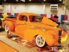 View this Trucks At Grand National Roadster Show Old Chevy Truck Photo 14. Check out The Grand National Roadster Show that features classic trucks as well. Find out more only at www.customclassictrucks.com, the official website for Custom Classic Trucks Magazine!