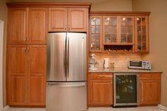 #kitchen #remodel #fridge #pantry