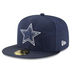 Cowboys New Era 2016 Sideline Official 59FIFTY Fitted Hat - Navy. Gorras  SnapbackGorra New EraRopaDallas CowboysNflSombreros ... 8b2728c67