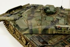 Challenger  1 BAOR   B ritish Army on the Rhine .   Tamiya Challenger one with tracks from F ruil , and some sc ratch build parts.       ...