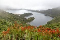 "Képtalálat a következőre: ""lagoa do fogo weather"" Mountains, Water, Travel, Outdoor, Water Pond, Water Water, Aqua, Viajes, Outdoors"