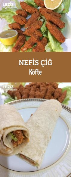 Nefis Çiğ Köfte Mexican, Ethnic Recipes, Food, Meal, Eten, Meals