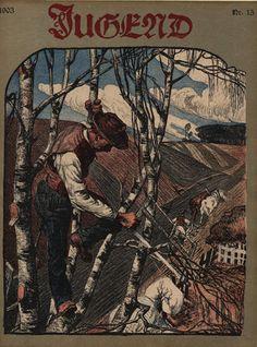 Jugend magazine (1903), via Flickr.