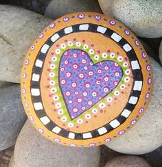 Painted stone   glinsterling   Flickr