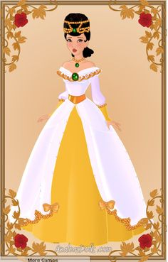 Pocahontas - Ballgown by zozelini.deviantart.com on @deviantART