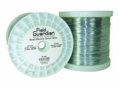 Field Guardian 16-Guage Galvanized Steel Wire, 1/2 Miles by Field Guardian. $59.95. Packaged 1 per pack. One roll weighs 28 lbs. Class 3 galvanized steel wire. Main color is silver. One roll weighs 28 lbs.. Has a 400lb break strength.. Has a 400lb break strength. This is a 1/2 mile roll of 16 gauge galvanized steel wire. this is a commercial grade, high quality fencing product.