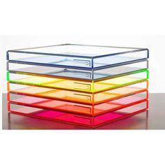 Alexandra Von Furstenberg trays. #MattsOfficeInspiration #JuicyLoves