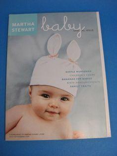 Magazine Martha Stewart Living Baby 2002