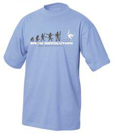 T-Shirt Snow Revolution, hellblau / T-Shirt Snow Revolution, light blue. A fun pattern plus a great t-shirt color. Revolution, Great T Shirts, Pullover, Cool Patterns, Colorful Shirts, Light Blue, Mens Fashion, Switzerland, Mens Tops
