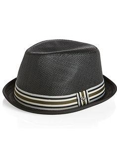 4836b4d40e6 Mens - Peter Grimm Black Fedora - Men s Wearhouse Black Fedora