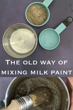 Milk Paint, while a wise decision in terms of non-toxic and natural ingredients, used to be a chore to make. With Sinopia Milk Paint, you can create right from the jar with smoother results! Homemade Art, Pottery Designs, Milk Paint, Nature Paintings, Home Made Soap, Art Tips, Art Techniques, Diy Painting, Dog Bowls