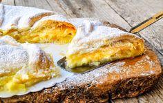 Torta di mele con pasta sfoglia e crema, cioccolato bianco, ricetta facile e veloce, torta con pasta sfoglia, ricetta dolce buonissima, da preparare in poco tempo