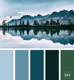 Exterior House Colors Blue Paint Schemes 46 Ideas For 2019 House Color Palettes, Color Schemes Colour Palettes, Green Color Schemes, Green Colour Palette, House Color Schemes, Blue Color Combinations, Nature Color Palette, Blue Palette, Exterior Paint Schemes