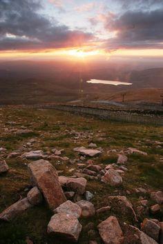 Summer sunset @ CairnGorm Mountain, Scotland
