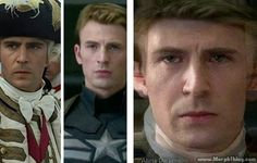 Norrington and Captain America: Norrington HAS TO BE Steve's ancestor . . .
