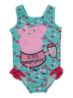 4d959ac6f8221 Peppa Pig Toddler bathing suit! My daughter loves Peppa Peppa Pig Outfit