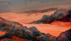 Red planet 204 by Patrycja | Illustration | 2D | CGSociety