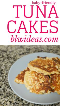 Tuna Fish Cakes For Babies