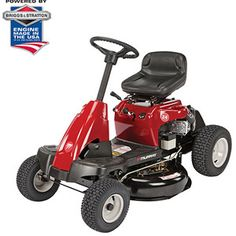 """Murray 24"""" 190cc Briggs and Stratton Rear Engine Riding Mower with Shift on the Go Drive System"""