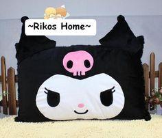 $29.90 NEW2012 Unique Sanrio My Melody Kuromi Pillow Case Single Size RARE Free SHIP | eBay