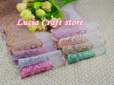 Aliexpress.com : Buy 9cm Multi Colors Options Lace Fabric Trim Embroidery Sewing Fabric Ribbons DIY Garment Accessories 1y/lot  050025020 from Reliable accessories seat suppliers on Lucia Craft store
