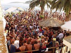 Top Ten Clubbing Destinations in Croatia: Pag, Hvar, Primosten, Vodice, Makarska, Split, Zadar, Dubrovnik, Pula, and Rab.