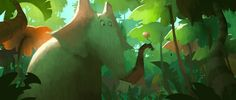 Dice Tsutsumi: Colorscript for Horton Hears A Who | Jen Betton ...