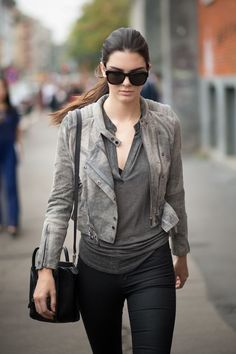 Kendall Jenner Street Style www.redreidinghood.com
